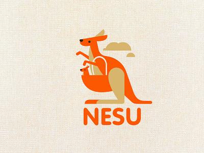 NESU typography design company font brandidentity identity branding logotype logo brand