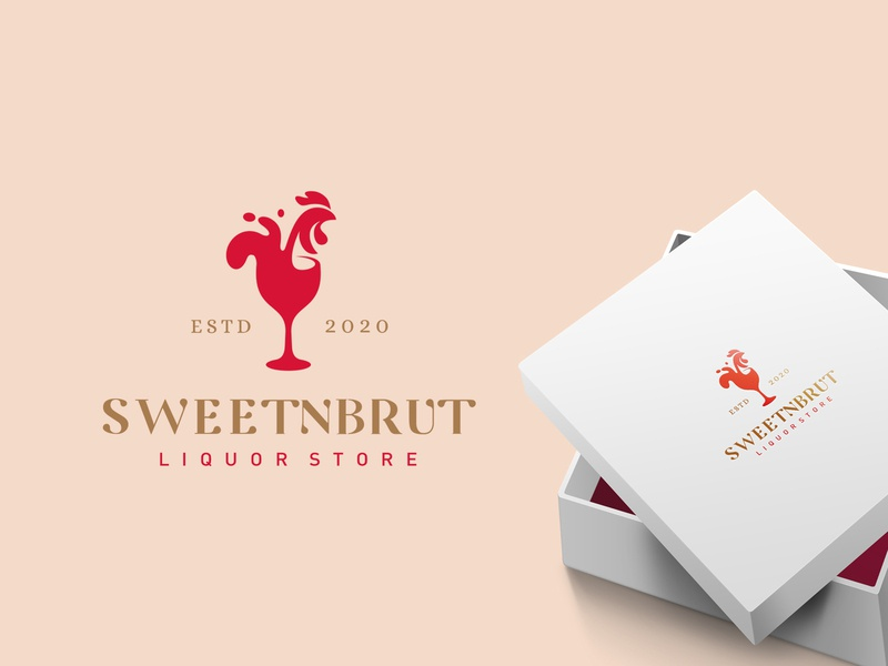 Sweetnbrut online store alcoholic typography design company font brandidentity identity branding logotype logo brand