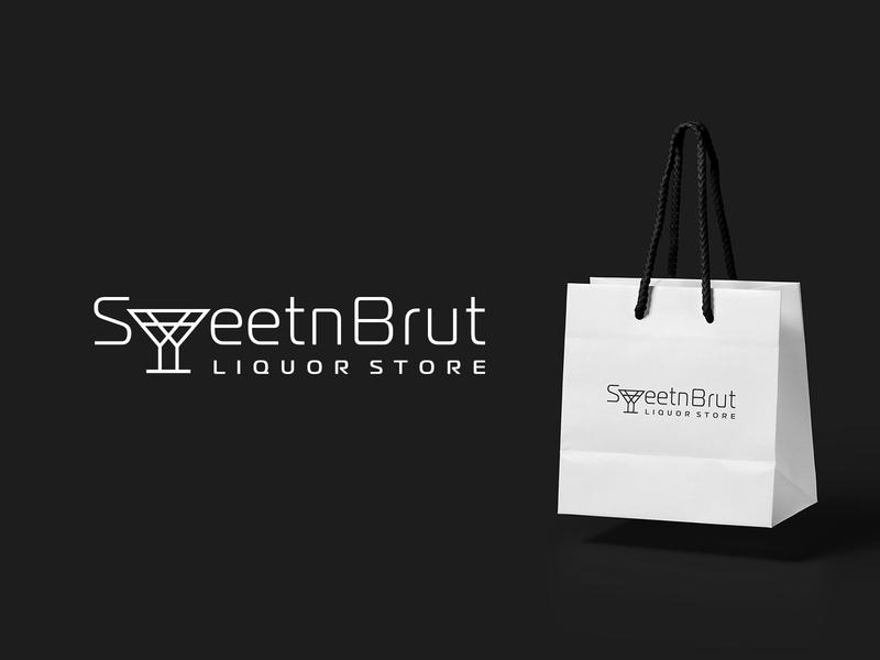 SweetnBrut design company font brandidentity identity branding logotype logo brand