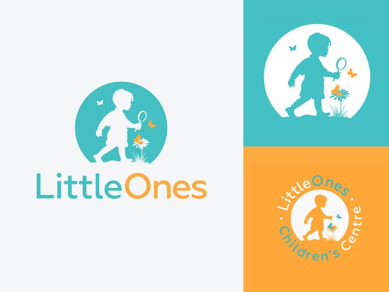 LittleOnes ones little typography design company font brandidentity identity branding logotype logo brand