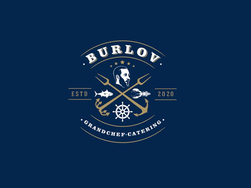 Burlov-catering catering grandchef typography design company font brandidentity identity branding logotype logo brand