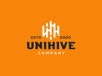 Unihive education. unihive unihive typography design company font brandidentity identity branding logotype logo brand