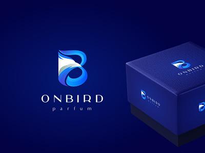 Onbird parfume onbird typography design company font brandidentity identity branding logotype logo brand