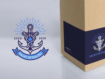 Yacht Detailing yacht detailing yacht detailing typography design company font brandidentity identity branding logotype logo brand