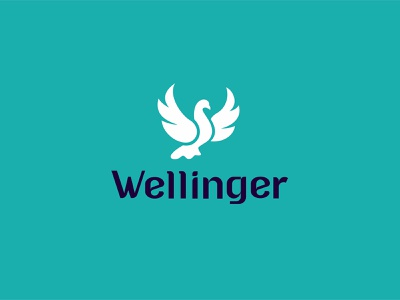 Wellinger wellness typography design company font brandidentity identity branding logotype logo brand