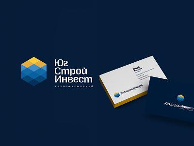 YugStroyInvest typography design company font brandidentity identity branding logotype logo brand