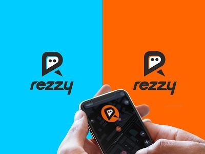 Rezzy illustration design font brandidentity identity branding logotype logo brand