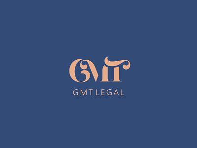 GMT Legal branding brand logotype logo firm law legal gmt