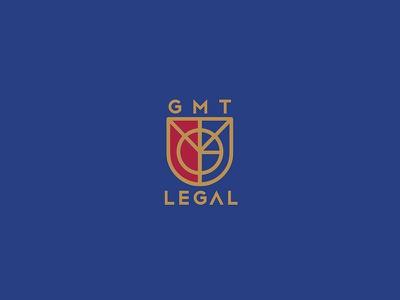 GMT Legal - law firm branding brand logotype logo firm law legal gmt