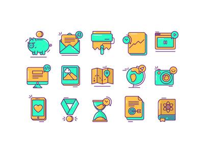 Fun icons