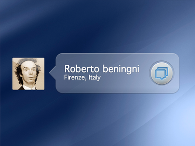 Message from mister Benigni