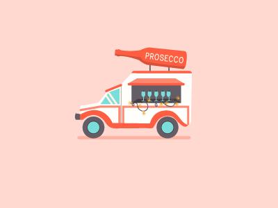 Prosecco Truck