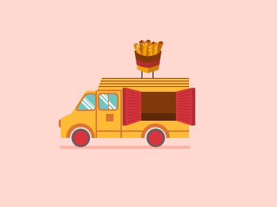 Fries Truck
