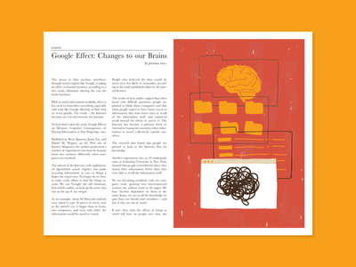 Changes to our Brains