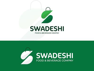 Food Shopping Logo s letter logo shopping logo logo branding logo design