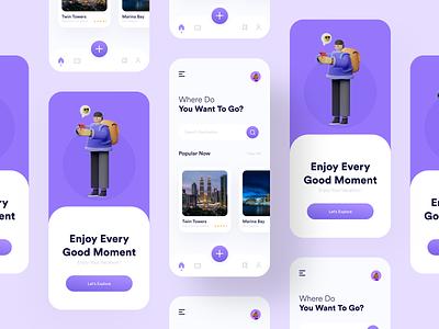 Travel App UI traveling app travel booking app travel agency user interface travel app travel app design mobile app ui design app design ui design
