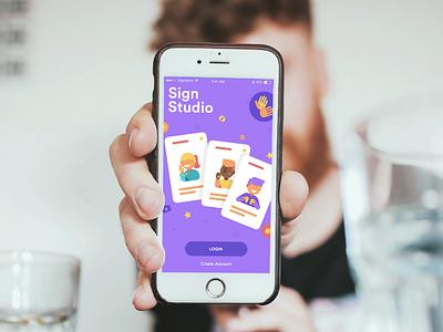 Sign Studio design illustration ux app design ui ui design ux design