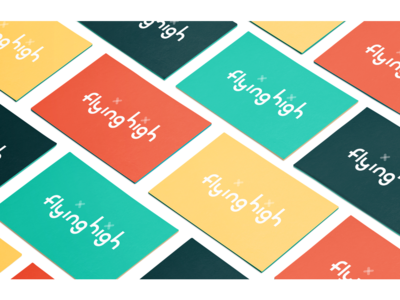 Nesta - Flying High Branding icon typography branding logo design