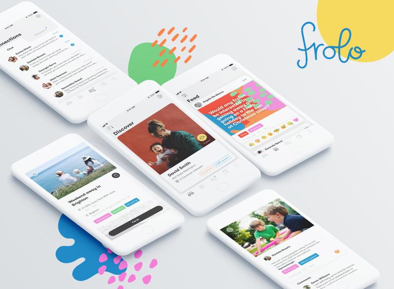 Frolo branding ux app design ui ux design ui design design