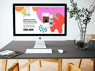 Frolo website design website branding ux ui app design ux design ui design design