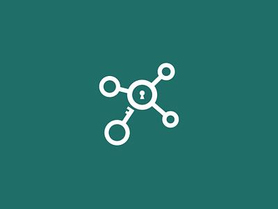 lock branding design illustration vector logo flat