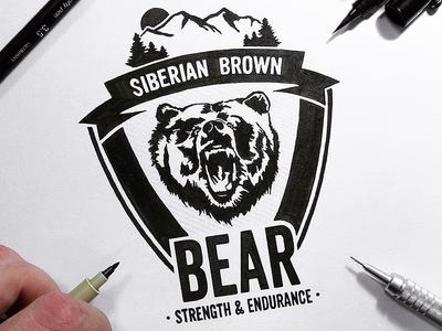 Siberian Brown Bear: Strength & Endurance