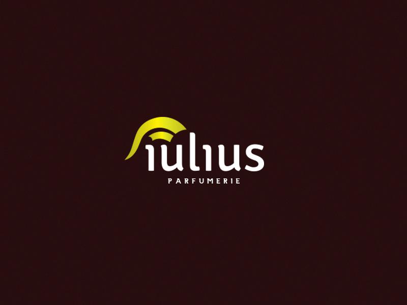 Iulius Parfumerie branding logo perfumery