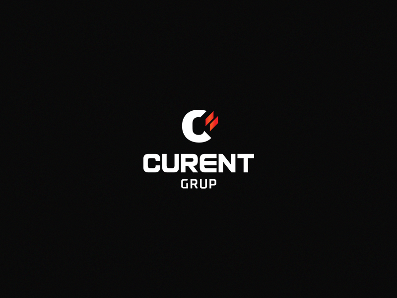 Curent Grup branding logo identity store electrical