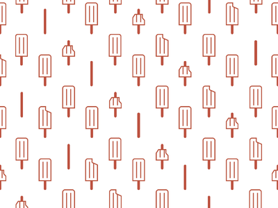 Ice Popsicles Pattern ice pop ice lolly popsicle pattern