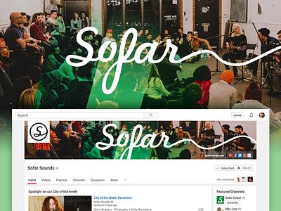Sofar Youtube  brand youtube sofar