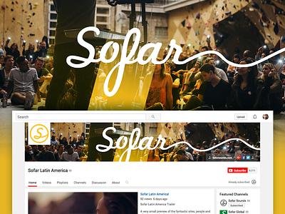 Sofar Youtube Latin America brand youtube sofar