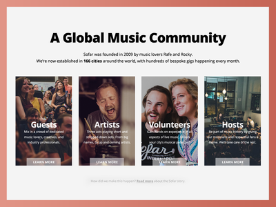 Sofar Global Music Community sofar web about