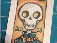 Happy Halloween 2018 - card#1