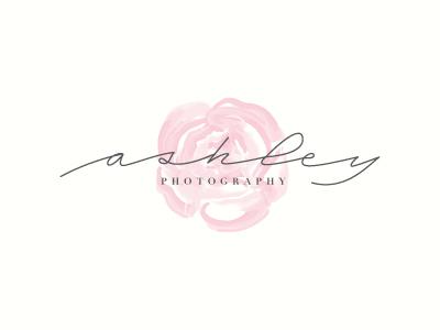 Photography Logo Proposal fashion flowers branding script wip proposal photography logo watercolor illustration peony custom type