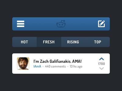 Reddit for iOS