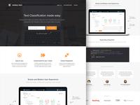 Categorizer - Landing Page