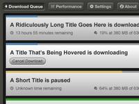 Multifile Downloader UI (Part 1)