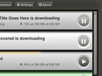 Multifile Downloader UI (Part 2)