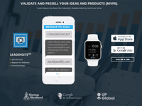 Test, VALIDATE, PreSell, LAUNCH  |  Mobile APP MVP