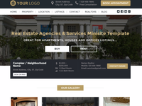 REAL ESTATE Agency/Listings MINISITE | Buy, Rent or Lease