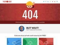 404 ERROR PAGE, Resources Library & Vault for Content Delivery