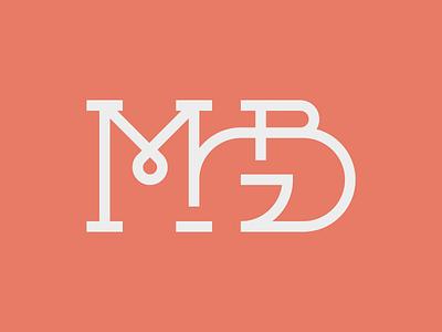 Concept for MGB Accountants monogram initials mgb identity branding logo finance accountant