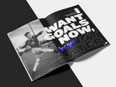 How Football is Social presentation layout insights sport indesign black typography editorial social media data football