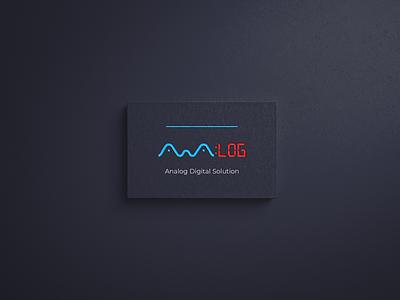 analog digital solution design and branding agency analog digital visual identity flat design brand design branding minimalism minimalist modern logo logo agency logo agency website agency branding agency
