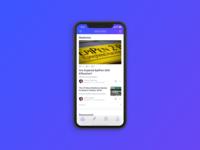 Mobile - Medical Newsfeed