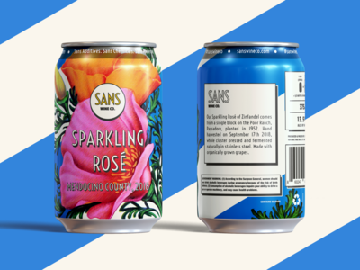 Sparkling Rose, By Sans Wine Co