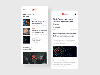 News Platform Mobile App digital electronic global newsite site reader book newspaper information media application app ui design mobile platform news