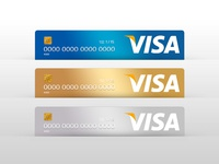 Visa Card Mocks