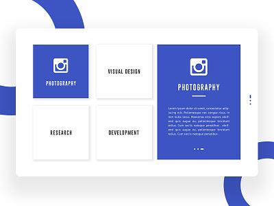 Personal CV Concept #2 ux ui template service psd portfolio personal cv design creative agency