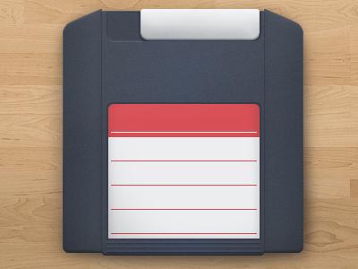ZipDisk office obsolete icon plastic zipdisk illustration rebound